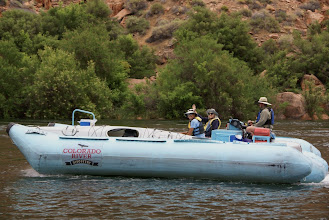 Photo: Shuttles speed up river at up to 20 mph fully loaded.