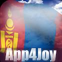 Mongolia Flag Live Wallpaper icon