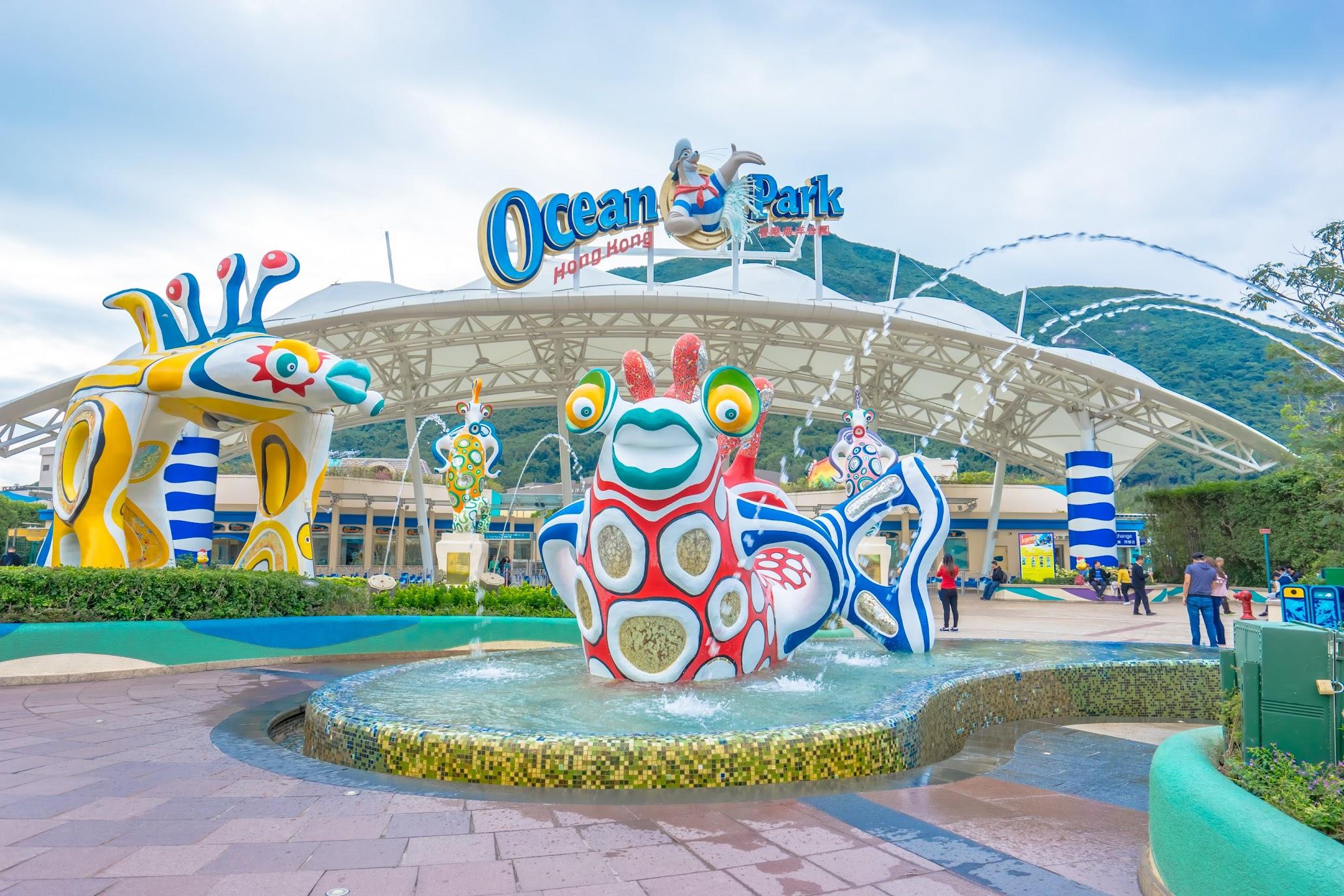 香港 海洋公園(オーシャンパーク)1