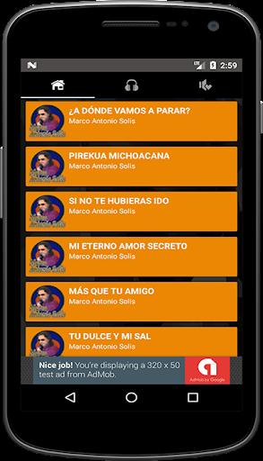 Musica Marco Antonio Solis Mp3 + Letra screenshot 3