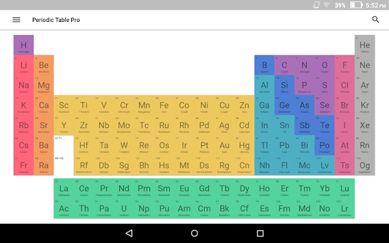 Download virtual periodic table apk latest version app for android virtual periodic table poster urtaz Choice Image