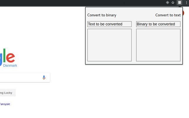Binary text converter