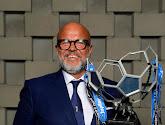 """📷  Supporters Club Brugge eren Bart Verhaeghe met heel wat prachtige spandoeken: """"Bluvn goan, voorzitter"""""""