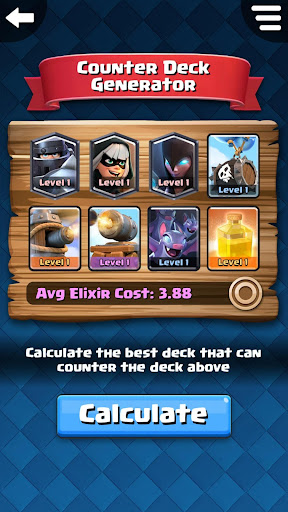 Counter Deck Generator for Clash Royale 2.0.0 PC u7528 1
