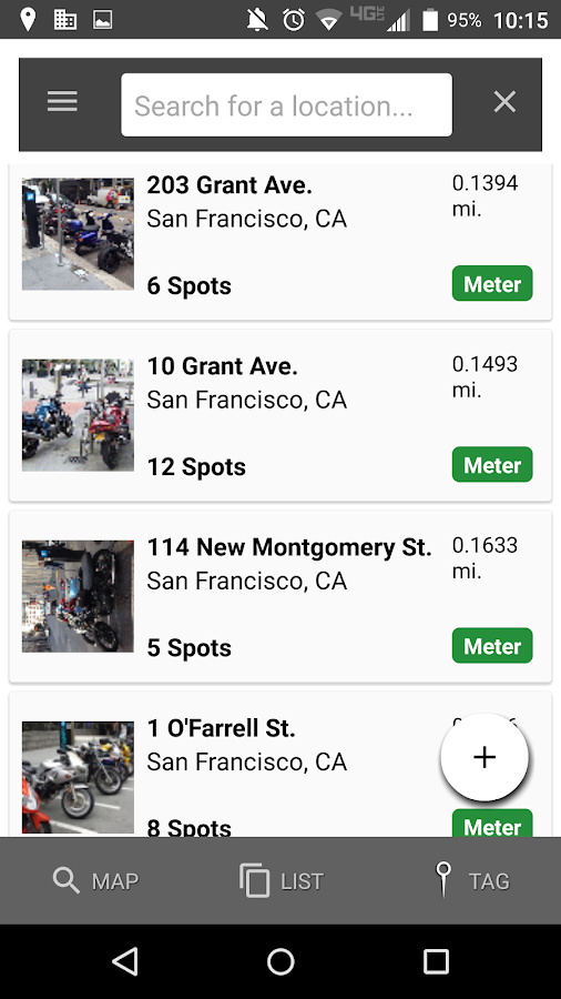 CurbNinja Motorcycle Parking- screenshot