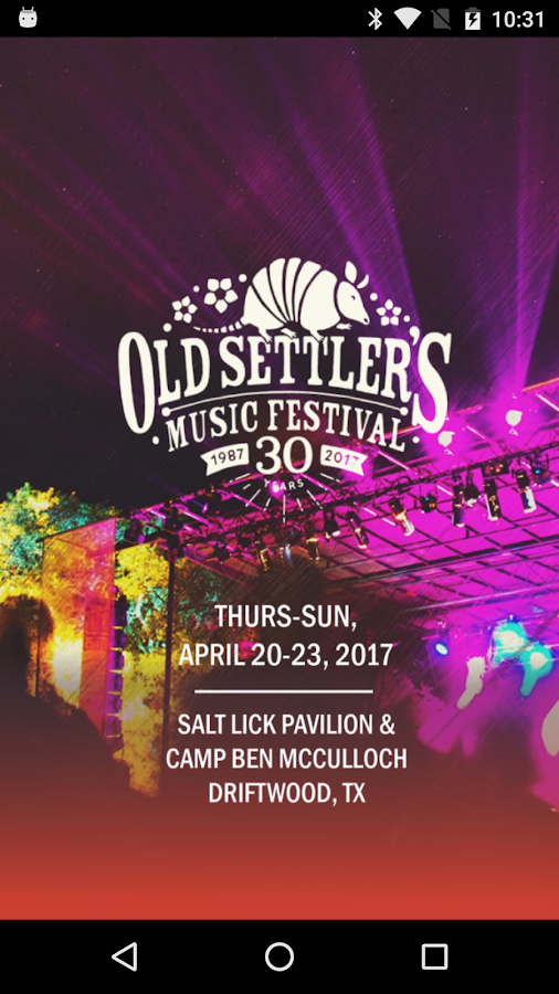 Old Settler's Music Festival- screenshot