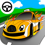 Taxi car games for little kids
