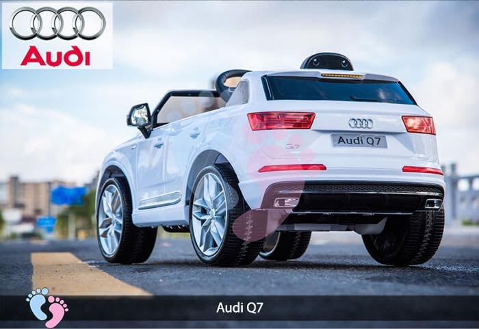 Oto điện Audi Q7 dành cho bé yêu 7