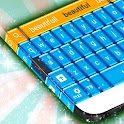 Blue Candy GO Keyboard icon