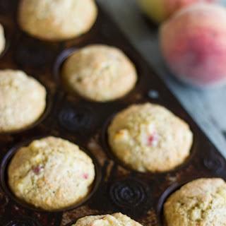 Peach Cornmeal Muffins