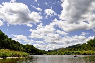 Photo: Kayaking in Waterbury Resevoir at Little River State Park
