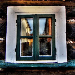 Rebound in window by Karel Šula - Buildings & Architecture Other Exteriors