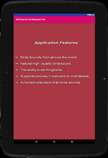Bird Sounds & Ringtones Free for PC