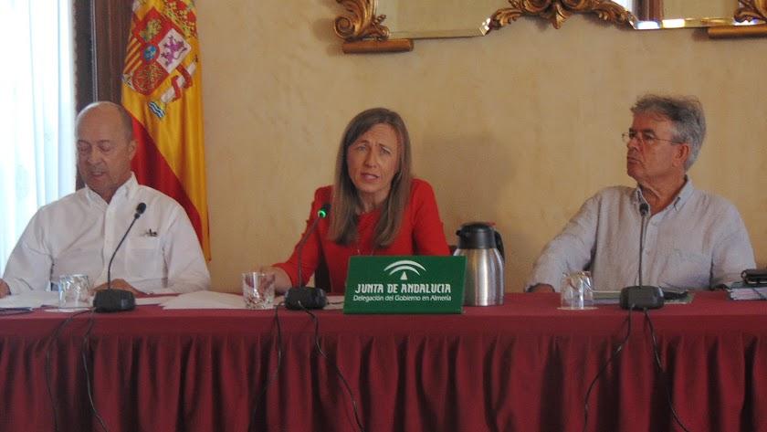 La delegada de Educación presentó las novedades del nuevo curso académico.