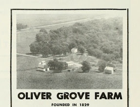 Photo: Oliver Farm   From: American Aerial County History Series  John Drury 1955