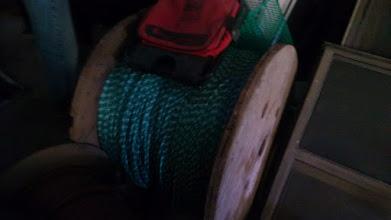 Photo: Spool of rope