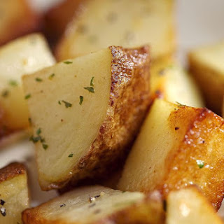 Roasted Garlic Potatoes.