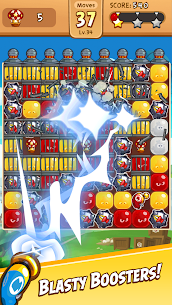 Angry Birds Blast MOD (Unlimited Moves) 2