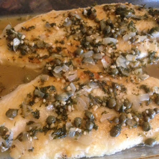 LEMON SOLE PICCATA