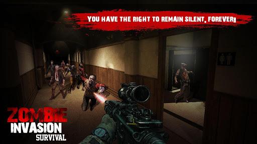 US Police Zombie Shooter Frontline Invasion FPS 1.2 screenshots 3