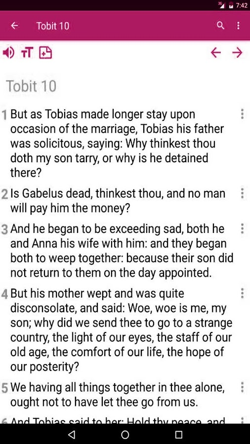 Catholic Bible Verses- screenshot