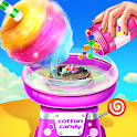 💜Cotton Candy Shop - Cooking Game🍬 icon