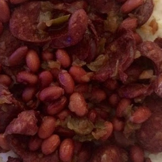 Pressure Cooker Red Beans and Sausage