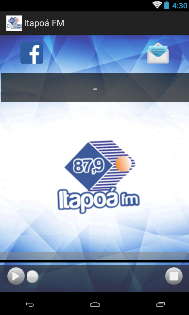 Radio Itapoá FM - Novo- screenshot