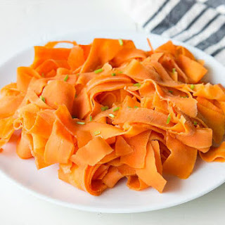 Orange Glazed Carrot Ribbons