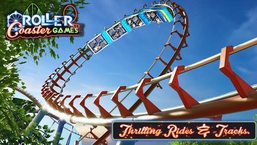 Roller Coaster Games : Rollercoaster Simulator