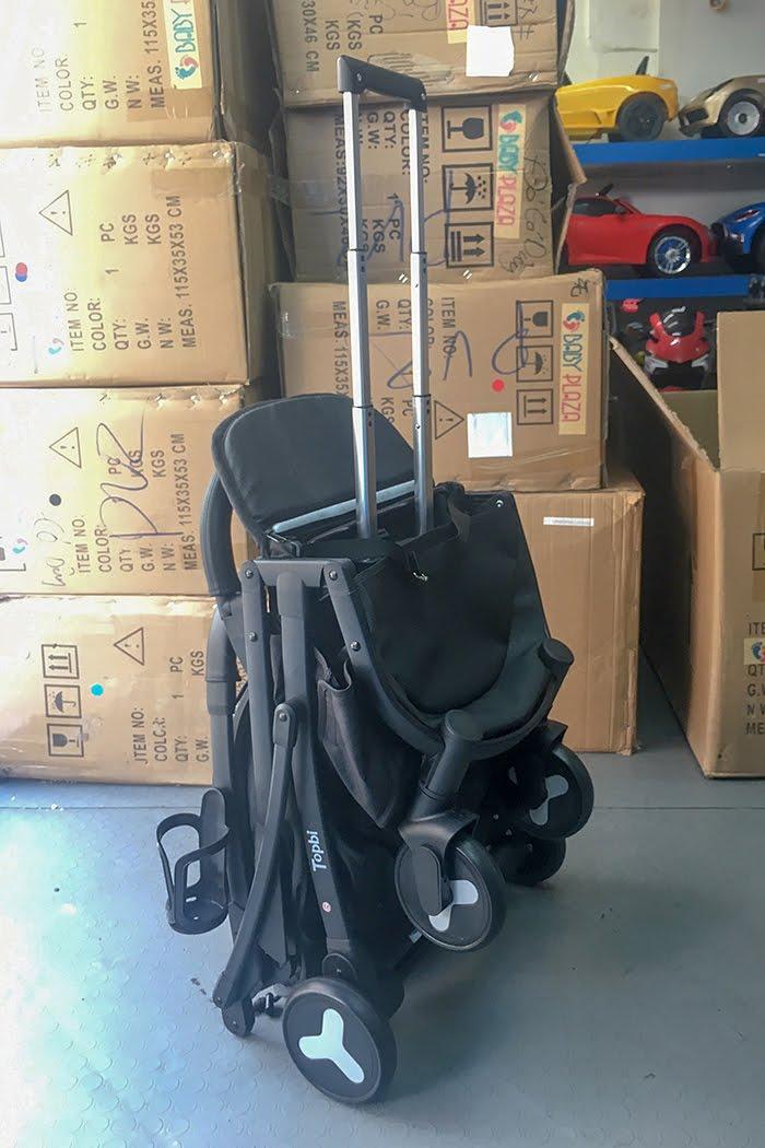 Xe đẩy Topbi S600 có tay kéo vali 22