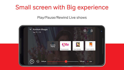 Airtel TV: Movies, TV series, Live TV 1.5.5.4 screenshots 7