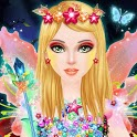 Fairy Saloon - Dressup & Makeover, Color by Number icon