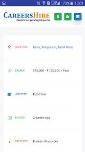 Download CareersHire- India's No:1 Job Portal For PC Windows and Mac apk screenshot 6