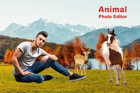 Download Wild Animal Photo Editor For PC Windows and Mac apk screenshot 3