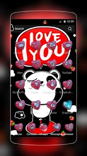 Mr.Right Panda Láska - náhled