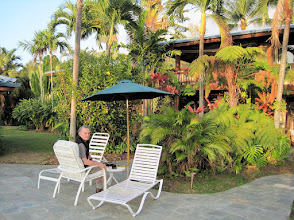 Photo: Patio at the Hawaiian Oasis B&B