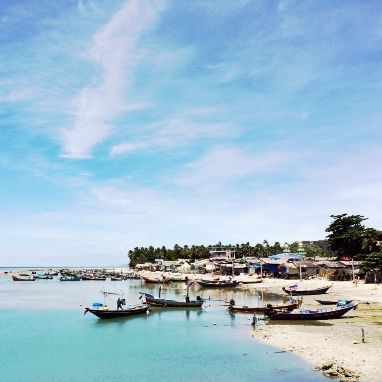 Playa de Koh Samui.