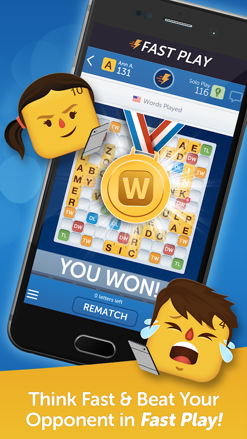 Screenshots of Words With Friends Classic for iPhone