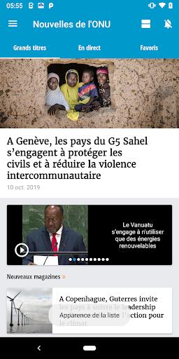 UN News Reader 6.3.7 screenshots 2