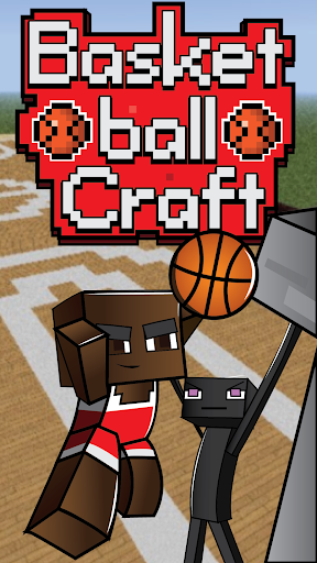 Basketball craft with Enderman