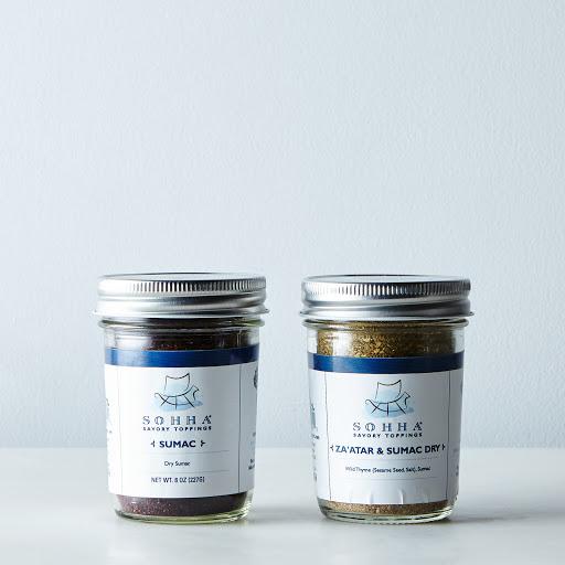 Dry Sumac + Dry Za'atar & Sumac Blend