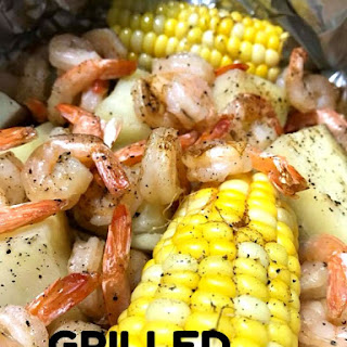 Grilled Shrimp Foil Packets Recipe