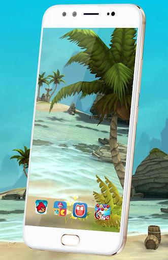Beach Live Wallpaper HD Background: Island 3D 1.6 screenshots 2