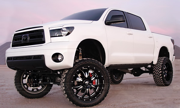 Photo: BMF - M-80 Style Death Metal Black Wheels on Toyota Tundra