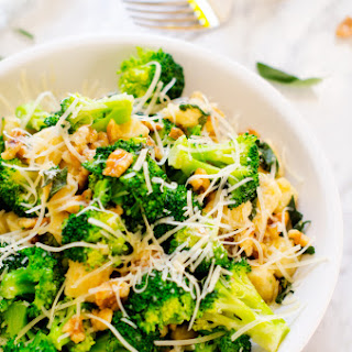 Gnocchi with Broccoli, Sage & Parmesan