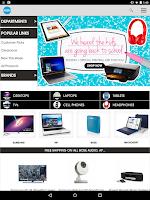 Screenshot of HSN Tablet Shop App