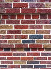 Photo: Colored Bricks on 89th St