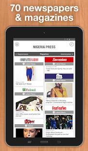 Nigeria Press- screenshot thumbnail