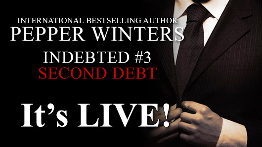 Review&Giveaway: Second Debt (Indebted#3) by Pepper Winters